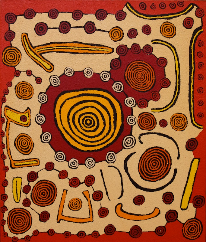 View works by Morris Gibson  Tjapaltjarri