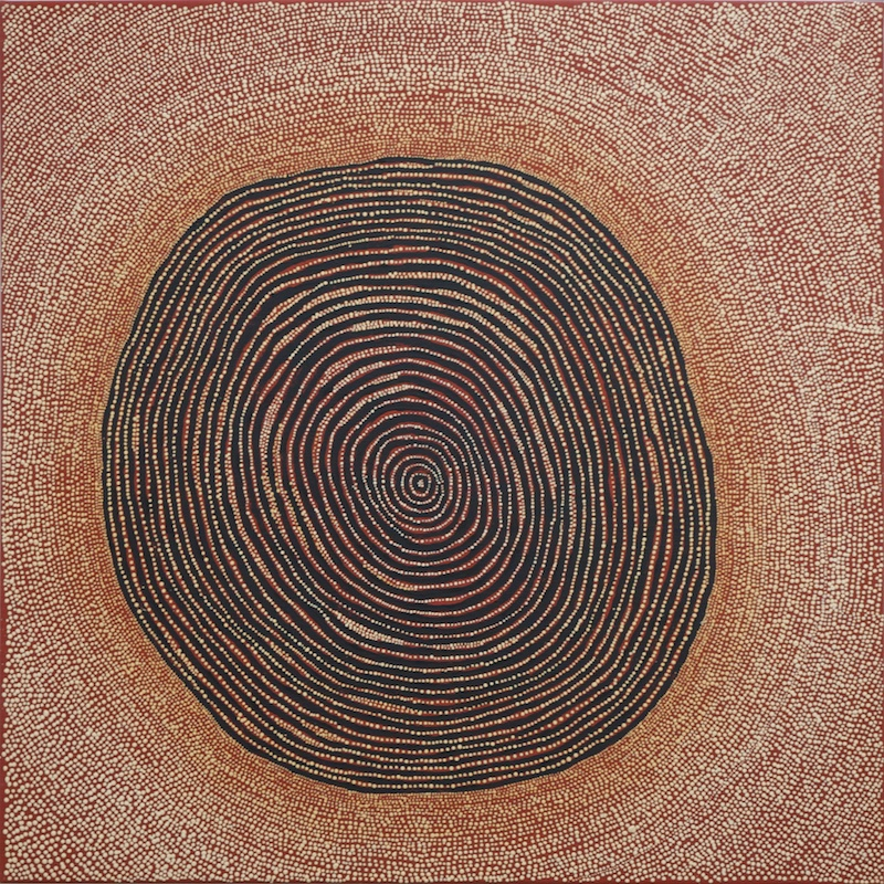 View works by Ngoia  Napaltjarri