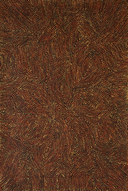 View works by Richard Yukenbarri  Tjakamarra