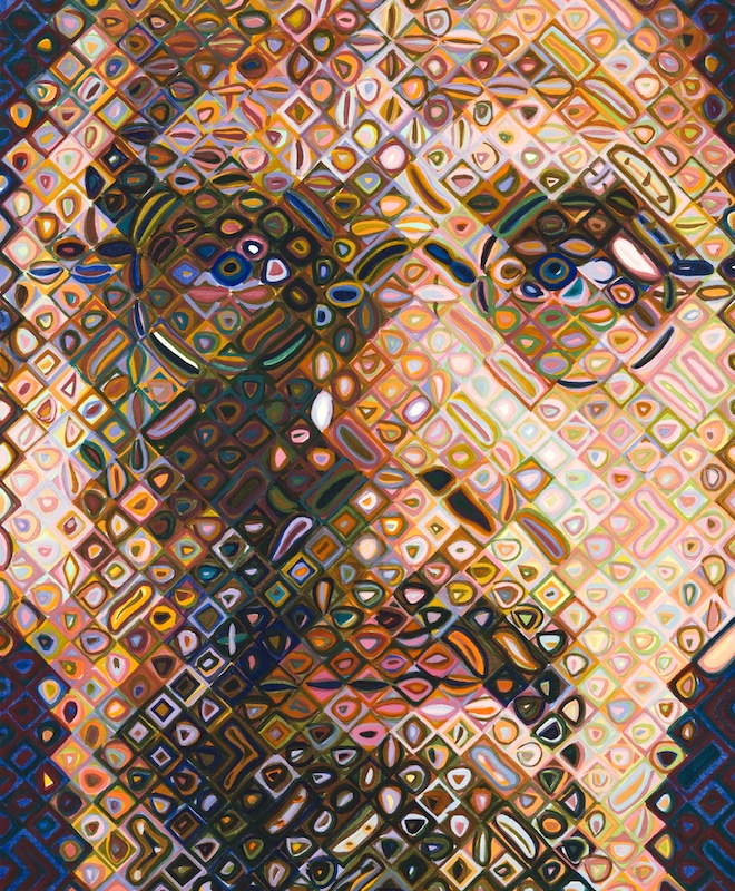 View works by Chuck  Close
